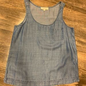 Vince Camuto Denim Tank Top